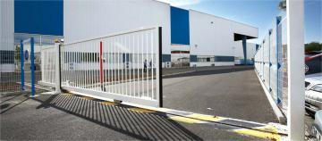 Cổng trượt tự động 1 ray - Auto Sliding Gate
