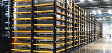 A-SAFE công bố các sản phẩm chống lật mới cho các khu vực lưu trữ xếp cao chồng lên nhau