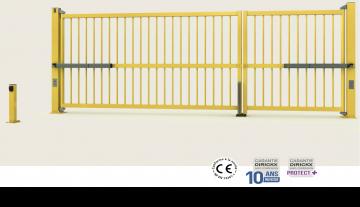 Cổng cánh mở - Auto/Manual Swing Gate